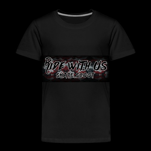 red camo - Kinderen Premium T-shirt