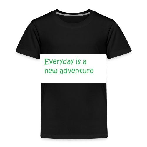 Everyday is A new adventure inspirational logo - Kids' Premium T-Shirt