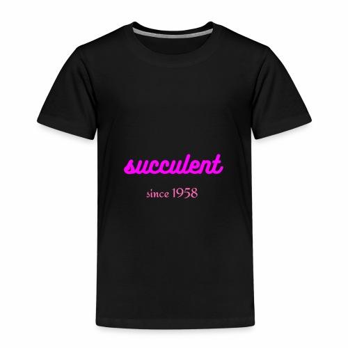 SUCCULENT - Kinderen Premium T-shirt