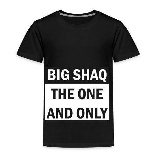 BigShaq BIG SHAQ THE ONE AND ONLY - Kinder Premium T-Shirt