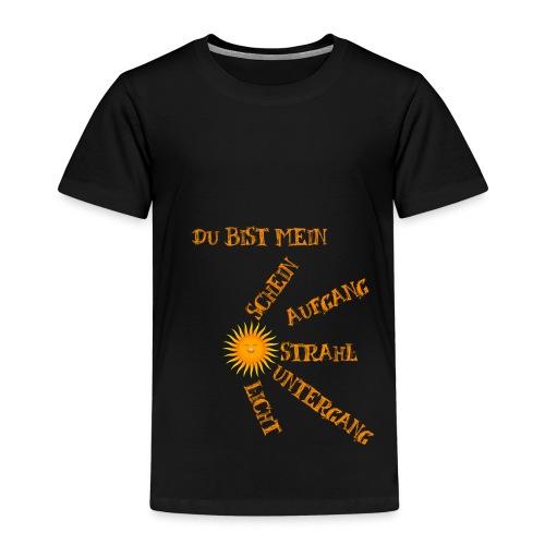 Sonnenlicht Sonnenschein - Kinder Premium T-Shirt
