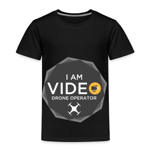 I AM DRONE OPERATOR - 1 White - Maglietta Premium per bambini