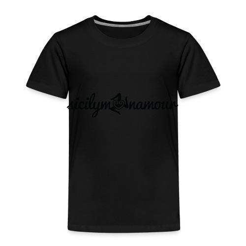 Sicilymonamour TM black - Maglietta Premium per bambini