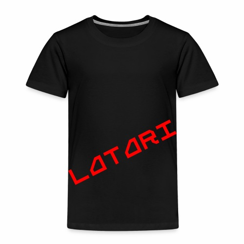 Alkuperäinen Latari Logo - Lasten premium t-paita