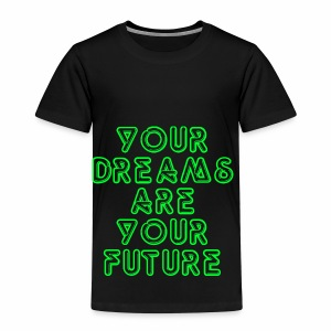 Future Clothing Slogan - Green Text - Kids' Premium T-Shirt