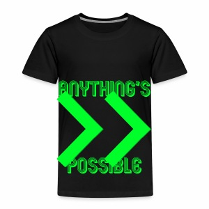 Future Clothing - Anything's Possible (Green) - Kids' Premium T-Shirt