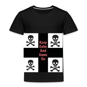 Keep calm and game on - Kids' Premium T-Shirt