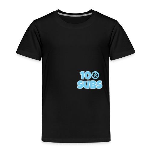 100 subs merch - Kids' Premium T-Shirt