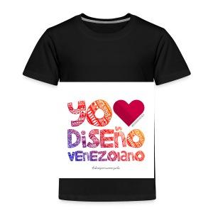 amoeldisenovenezolanoV3 - Camiseta premium niño