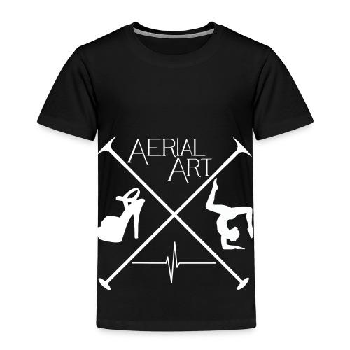 Aerial Art Passion Heel weiß - Kinder Premium T-Shirt