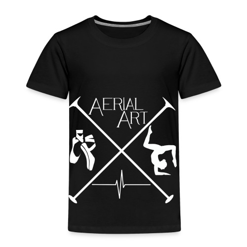 Aerial Art Passion Ballett weiß - Kinder Premium T-Shirt