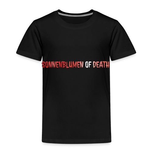 Sonnenblumen of Death Logo - Kinder Premium T-Shirt