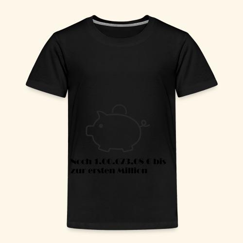 Sparschweinchen - Kinder Premium T-Shirt