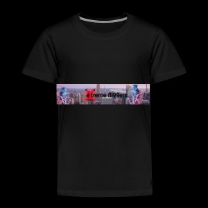 eXtreme fli99ers tryck på en tröja. - Premium-T-shirt barn