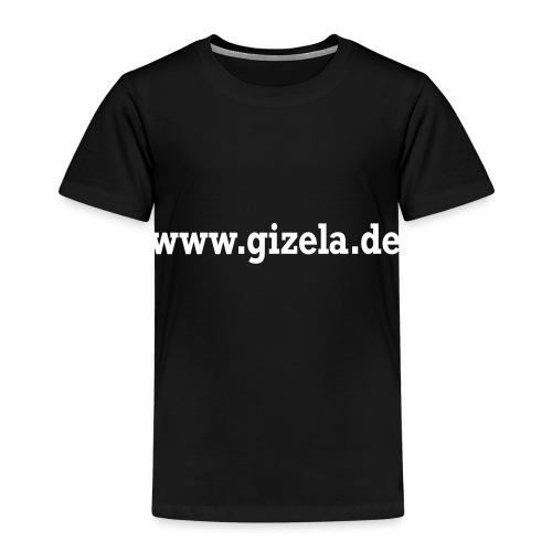 GIZELA web white - Kinder Premium T-Shirt