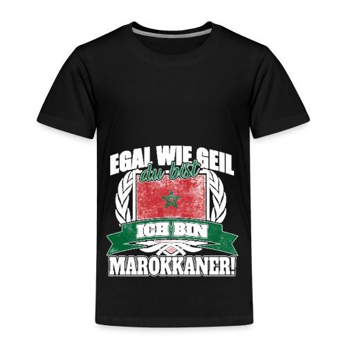Bist du stolz Marokkanerin zu sein? Dann ist diese - Kinder Premium T-Shirt