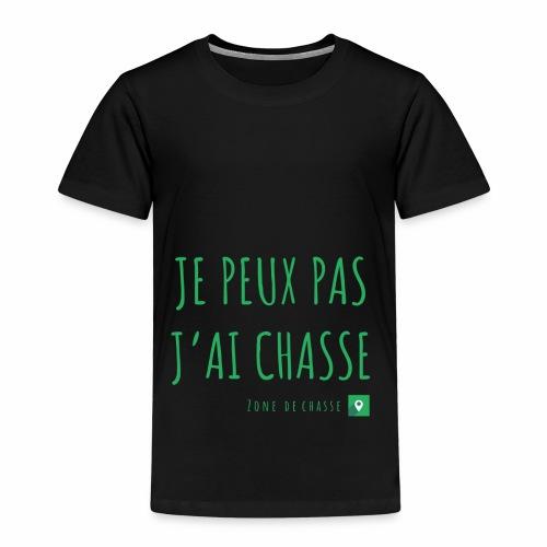 Chasseur et fier. - T-shirt Premium Enfant