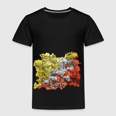 Bhoutan Drapeau Vintage - T-shirt Premium Enfant