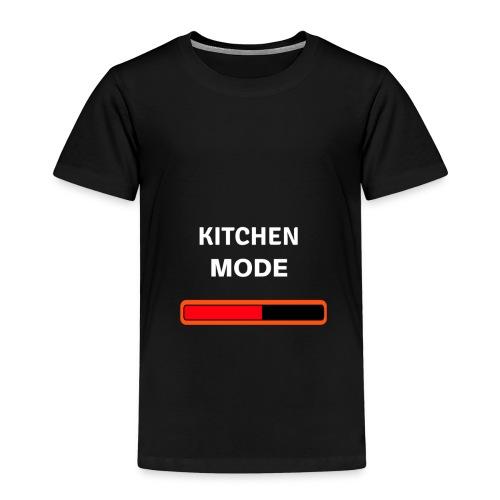 Kitchen Mode Kochen Essen Geschenk Küche backen - Kinder Premium T-Shirt