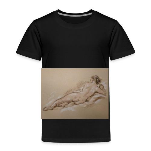 Frauenkörper - Kinder Premium T-Shirt