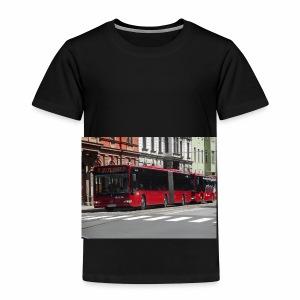 Een bus in Innsbruck - Kinderen Premium T-shirt