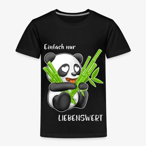 Liebenswerter Panda - Kinder Premium T-Shirt