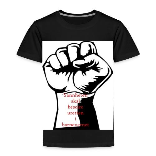 Knytteneve - Premium T-skjorte for barn