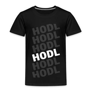 HODL white - Camiseta premium niño