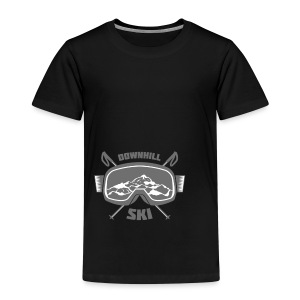 Downhill Ski - Kids' Premium T-Shirt