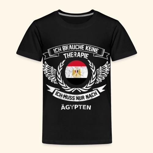 Ägypten T-Shirt Urlaub - Kinder Premium T-Shirt