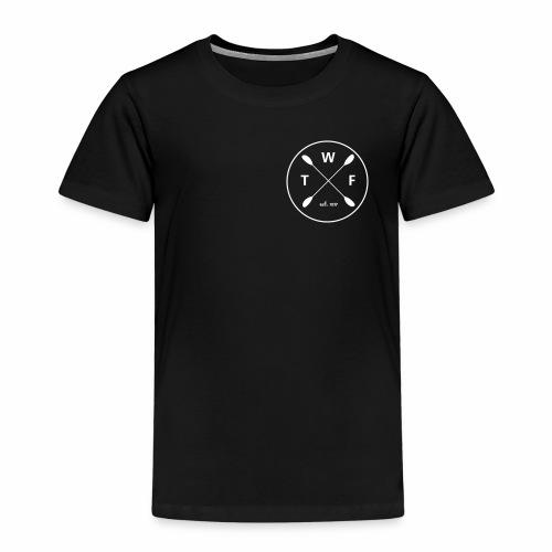 TWF weisses Logo klein - Kinder Premium T-Shirt