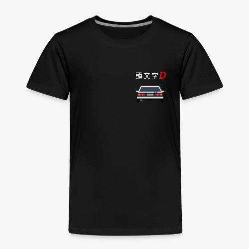 Initial D Pixel Art - T-shirt Premium Enfant