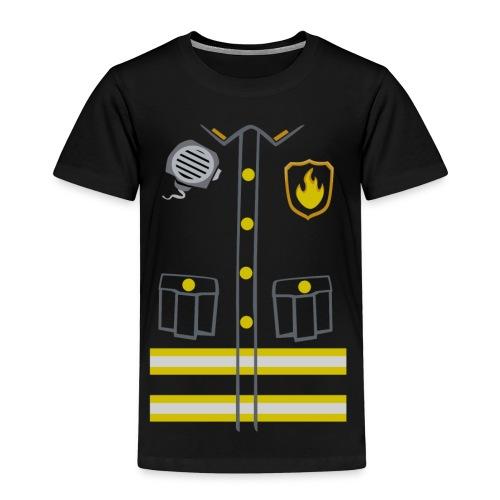 Fireman Costume - Dark edition - Kids' Premium T-Shirt