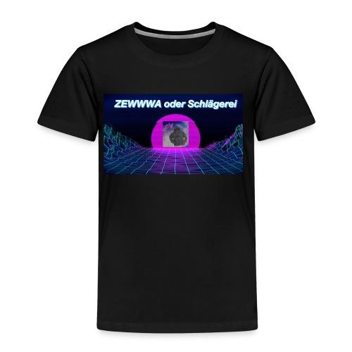 ZEWWWA oder Schlägerei - Kinder Premium T-Shirt