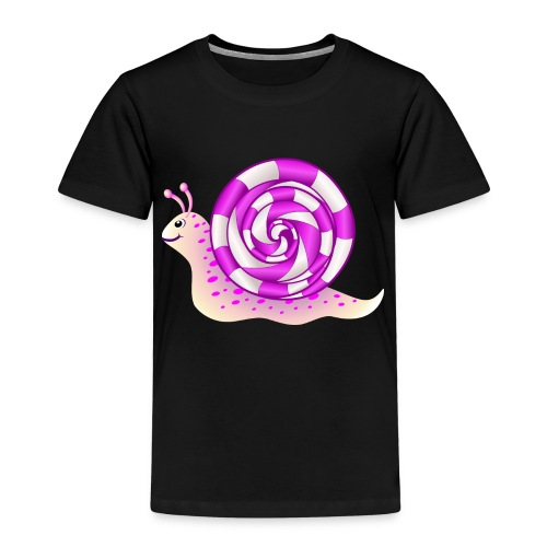Rosa Schnecke - Kinder Premium T-Shirt