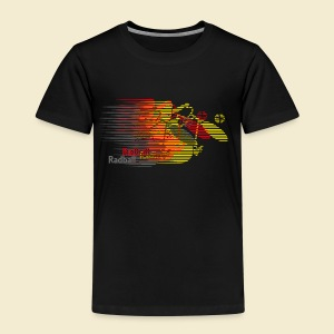 Radball | Earthquake Germany - Kinder Premium T-Shirt
