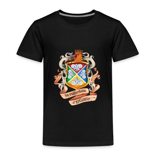 Blåkulla skolemblem - Premium-T-shirt barn