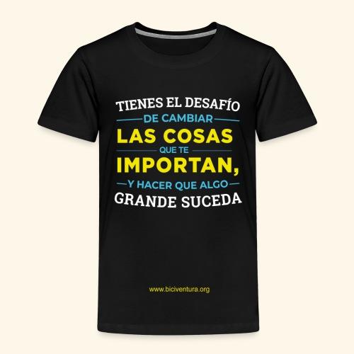 Cambia las cosas - Camiseta premium niño
