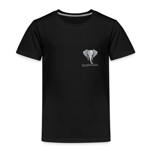 SimpAnimal - Simpler Elephant - Simpel - Schön - Kinder Premium T-Shirt