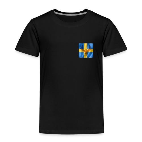 Swedish Phoenix klara färger - Premium-T-shirt barn