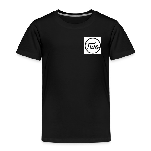 Two Brows Logo - Kinder Premium T-Shirt