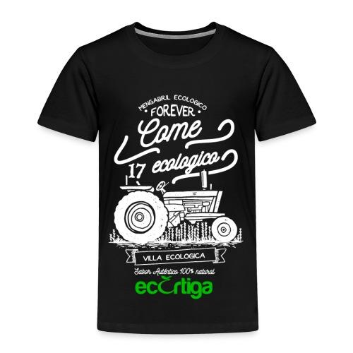 old tractor ecortiga white - Camiseta premium niño