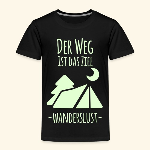 Wanderslust - Kinder Premium T-Shirt