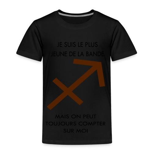 Sagittaire - je suis le plus jeune de la bande mai - T-shirt Premium Enfant