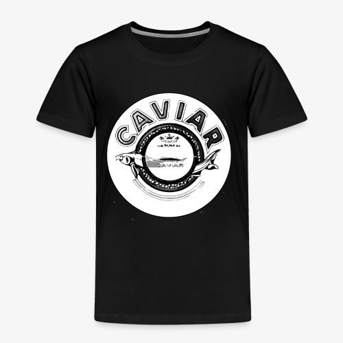 Caviar Black / White - Kids' Premium T-Shirt