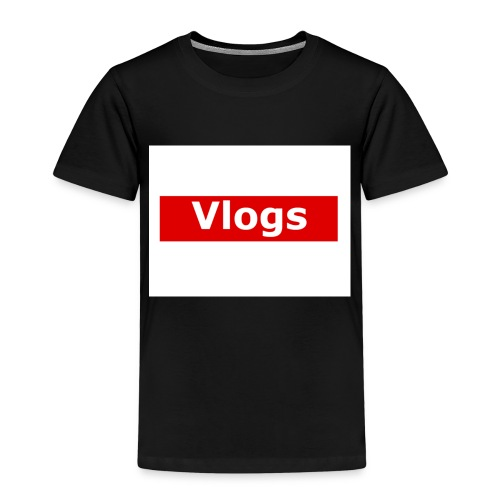 VLOGS MERCH - Kids' Premium T-Shirt