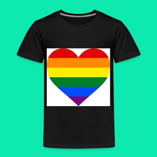 Pride- Heart - Kids' Premium T-Shirt