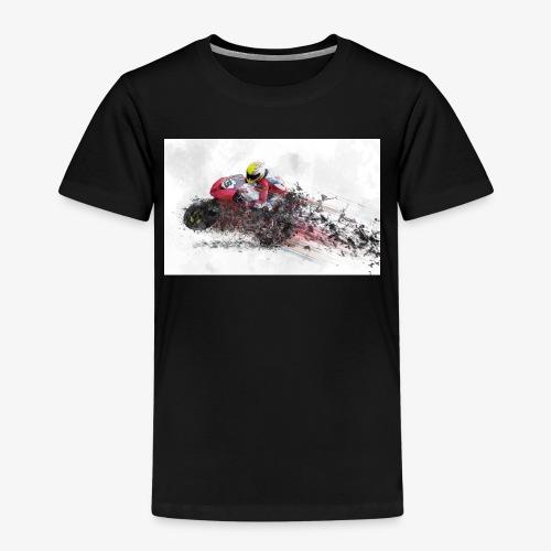 Motorradrennen. Das Geschenk für Motorradfans - Kinder Premium T-Shirt