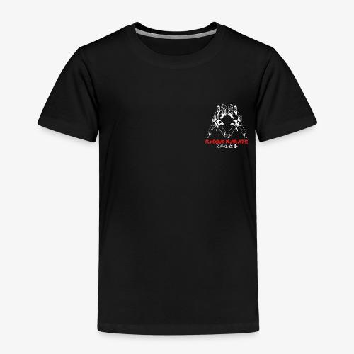 kydai club badge on Black - Kids' Premium T-Shirt