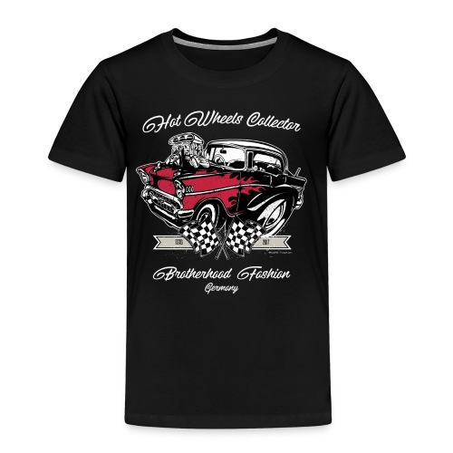 Hot Wheels Brotherhood Germany Motive B Queen - Kids' Premium T-Shirt